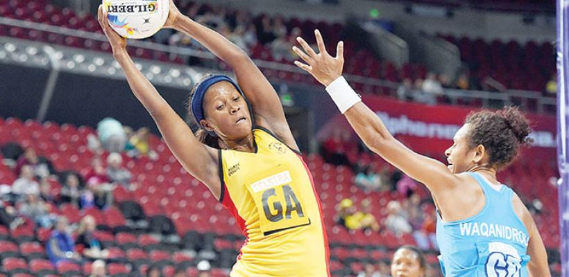 The She Cranes debut at the Netball World Cup in Sydney 2015