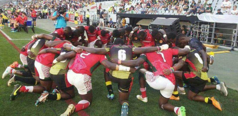 The Rugby Cranes at the HSBC World Rugby Sevens Series, Dubai 2017